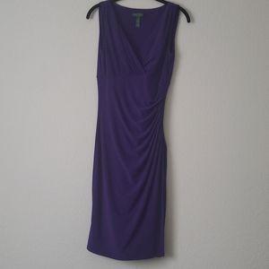 Vibrant Purple Ralph Lauren Dress